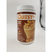 QUEST PEANUT BUTTER FLAVORED PROTEIN POWDER 1.6LB EXP 06/21