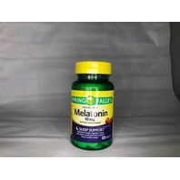 SPRING VALLEY MELATONIN 10 MG SLEEP SUPPORT STRAWBERRY 120 TABLETS EXP.9.30.21