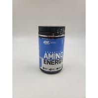 AMINO ENERGY BY OPTIMUM NUTRITION 30 SERVINGS BLUEBERRY LEMONADE EXP 12/21