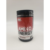 AMINO ENERGY BY OPTIMUM NUTRITION 30 SERVINGS FRUIT PUNCH EXP 12/21