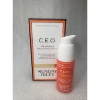 SUNDAY RILEY C.E.O. 15% VITAMIN C BRIGHTENING SERUM, 1.0 FL OZ