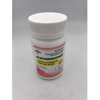 MEDLINE ACETAMINOPHEN EXTRA STRENGTH PAIN RELIEVER 100 500MG TABLETS EXP 12/22