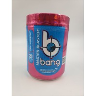BANG MASTER BLASTER RAINBOW UNICORN FLAVORED PRE-WORKOUT 20 SERVINGS EXP 06/21