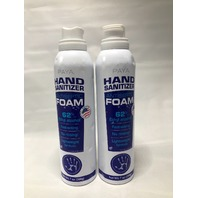 PAYA HAND FOAM 62% ETHYL 6 OZ 200G QTY 2