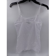 AMBIANCE 63000 WHITE TANK TOP WOMENS SIZE L