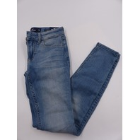 HOLLISTER 636946176 LOW-RISE SUPER SKINNY LIGHT BLUE WOMENS SIZE 00S/23X28