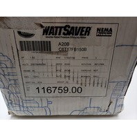 LEESON WATTSAVER MOTOR A20B 116759.00 1.5HP 1750/1450 3PH 5/8 56 FRAME 230/460