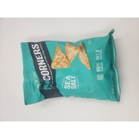 POPCORNERS SEA SALT FLAVORED CRUNCHY AND WHOLESOME POPPED-CORNER SNACK PACK OF 2
