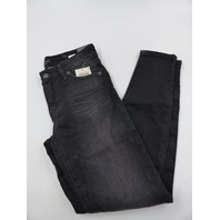 LUCKY BRAND 7WD10945 MID RISE AVA SUPER SKINNY BLACK JEANS WOMENS SIZE 0/25
