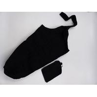 PS01 X002IJ019X YOGA MAT TOTE SLING CARRIER W/ DETACHABLE SMALL BAG BLACK