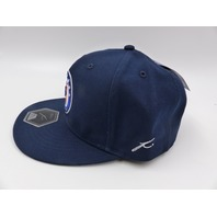 CRUZ AZUL FI COLLECTION DAWN FITTED HAT NAVY SIZE 7 1/4
