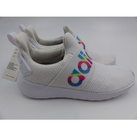 ADIDAS FW7600 KIDS LITE RACER ADAPT SHOE CLOUD WHITE/LIGHT GRANITE UNISEX SZ 12K