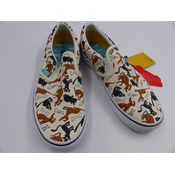 VANS 1497548 CLASSIC SLIP-ON THE SIMPSONS YOUTH SIZE 4.5