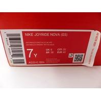 NIKE AQ3141004 JOYRIDE NOVA BLACK/BLUE BOYS SIZE 7Y