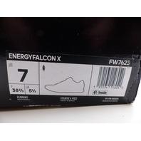 ADIDAS FW7623 ENERGY FALCON X BLACK WOMENS SIZE 38 2/3