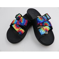 CHACO JCH199870 CHILLOS SLIDE TIE DYE WOMENS SIZE 5