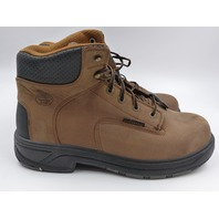 """GEORGIA BOOT G6644 FLXPOINT 6"""" CT BOOT-M STEEL TOE WORK BROWN MENS SIZE 12W"""