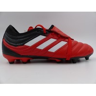 ADIDAS G28629 COPA GLORO 20.0FG SOCCER CLEATS RED/WHITE/BLACK MENS SIZE 10
