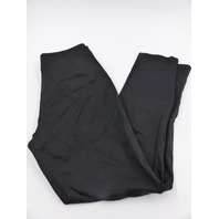 NEIMAN MARCUS BLACK STRAIGHT SLACK PANTS WITH SIDE ANKLE SLITS WOMENS SIZE 8