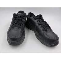 NIKE AIR MONARCH IV 4 CROSS TRANIER MENS BLACK/BLACK SNEAKERS 4E SIZE 11W