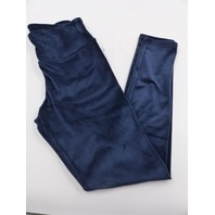 32 DEGREES HEAT TL0F887RT-403-S SOFT VELOUR LEGGING  DRESS BLUE WOMENS SIZE S