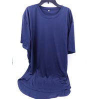 SHORT SLEEVE TSHIRT DARK BLUE WOMENS SIZE XL