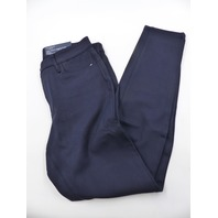 TALBOTS 52148392 PONTE HIGH-WAISTE JEGGING ANKLE INDIGO BLUE WOMENS SIZE 6
