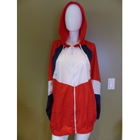 ROUGE RED,WHITE, & BLUE JACKET WOMENS SIZE 3X