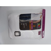 FRUIT OF THE LOOM BIG MAN A-SHIRT WHITE 3-PACK SIZE 5XB