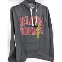 CAPTIVATING 17005 OKLAHOMA SOONERS PULLOVER HOODIE BLACK HEATHER MENS SIZE M