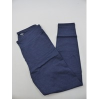 ATHLETIC WORKS WS9242D BLUE DRI MORE CORE ANKLE LEGGING WOMENS SIZE M
