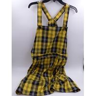 RUE21 POCKET SKIRTALL DRESS MUSTARD WOMENS PLUS SIZE 4X