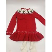 JINGLES & JOY 3 PIECE WINTER DRESS SET SIZE M