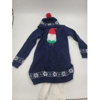 JINGLES & JOY GNOME NAVY CHRISTMAS DRESS SET