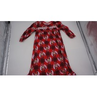 DISNEY MINNIE MOUSE PAJAMA NIGHTGOWN KIDS RED/PINK/WHITE 3T