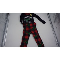 THE CHILDRENS PLACE KIDS DINO-CHRISTMAS PAJAMAS NAVY/RED/GREEN 2T