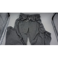 SCHEIN BAGGY THIN SWEATPANTS WOMEN L GREY
