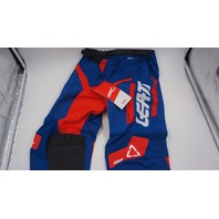 LEATT KIDS MOTORX CAPETOWN PANTS ROYAL BLUE/NEON ORANGE S