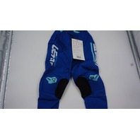 LEATT KIDS MOTORX CAPETOWN PANTS ROYAL BLUE/AQUA XS