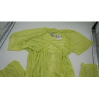 REVAMPED LACE SLEEP NIGHT GOWN LIME GREEN L