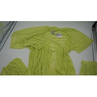 REVAMPED LACE SLEEP NIGHT GOWN LIME GREEN XS