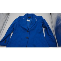 ABERDEENS TALBOTS ROYAL BLUE WOMENS BLAZER COAT SIZE 12