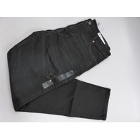 AMERICAN EAGLE 0121-4360 AIRFLEX + SKINNY JEANS WASHED BLACK MENS SIZE 36/32