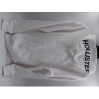 HOLLISTER 641765054 FLASH REACTIVE WHITE PULLOVER HOODIE MENS SIZE L