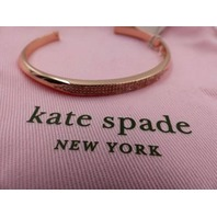 KATE SPADE NEW YORK WBRUH556  RAISE THE BAR GOLD PAVE CUFF BRACELET