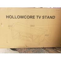 HOLLOW CORE TV STAND LIGHT OAK