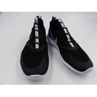 NIKE AT-4662 001 FLREX RUNNER (GS) BLACK/WHITE BIG KIDS SNEAKERS SIZE 6.5Y