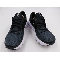 ON CLOUD CLOUDSWIFT RUNNING SHOES BLACK/ROCK WOMENS SIZE 5