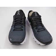 ON CLOUD CLOUDSWIFT RUNNING SHOES BLACK/ROCK WOMENS SIZE 7.5