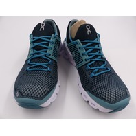 ON CLOUD CLOUDSWIFT RUNNING SHOES TEAL/STORM WOMENS SIZE 8.5